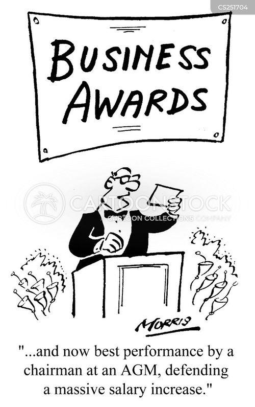 annual general meetings cartoon