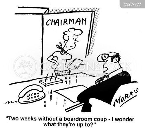 scheming cartoon
