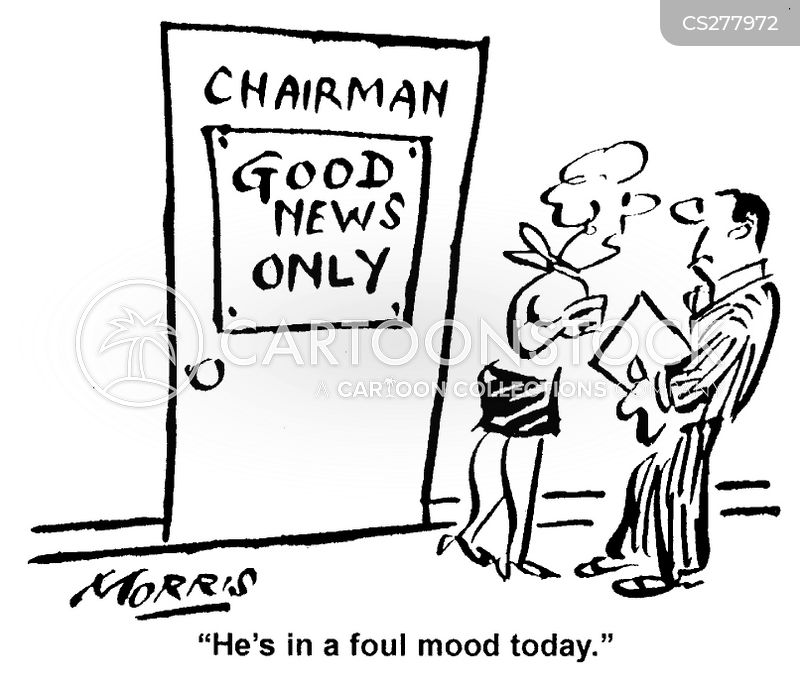 foul mood cartoon