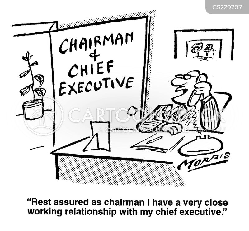 Executive Cartoon: Working Relationships Cartoons And Comics