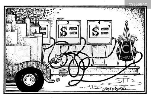 fueling cartoon