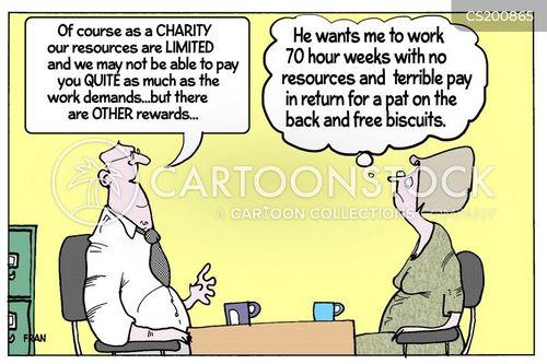 social conscience cartoon