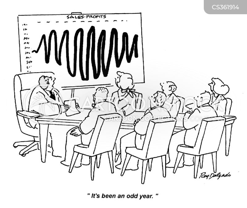 increasing cartoon