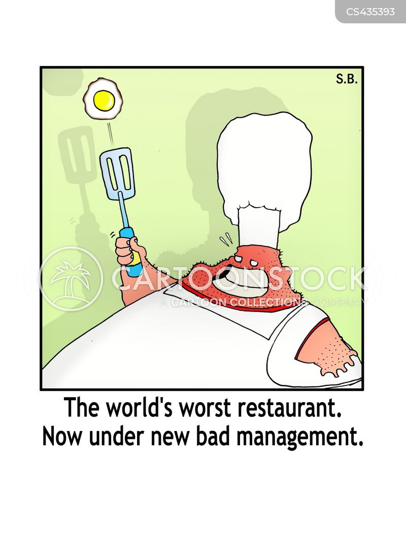 Restaurant Kitchen Management restaurant management cartoons and comics - funny pictures from