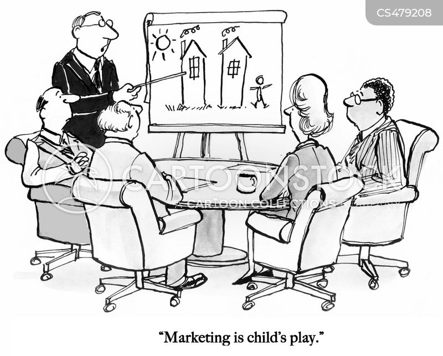 marketing policy cartoon