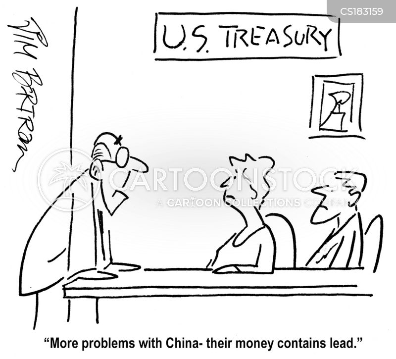 foreign currencies cartoon