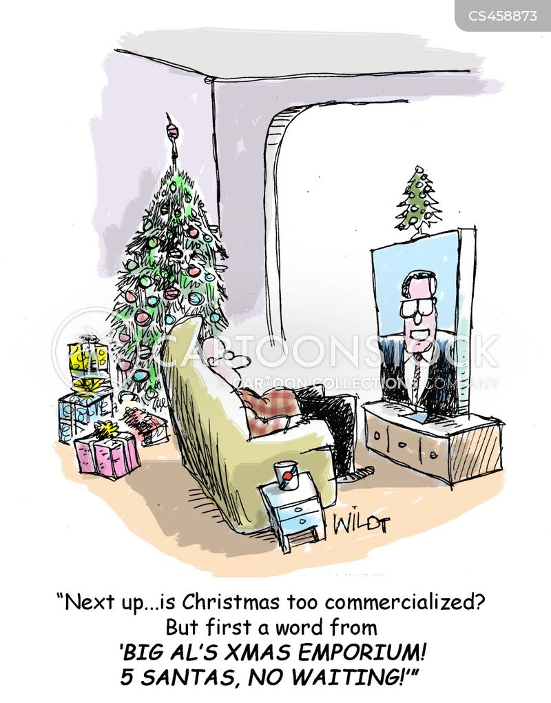 commercialized cartoon