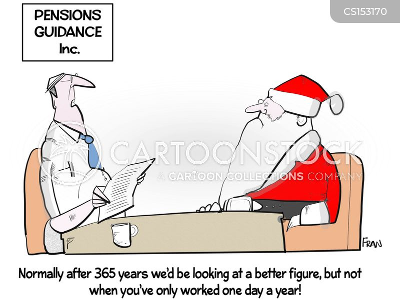 pensions adviser cartoon
