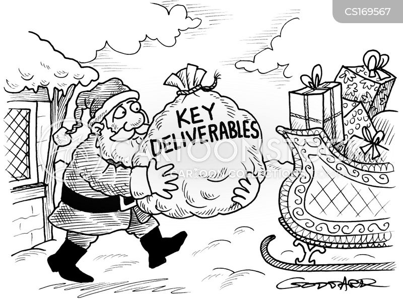 sleighs cartoon