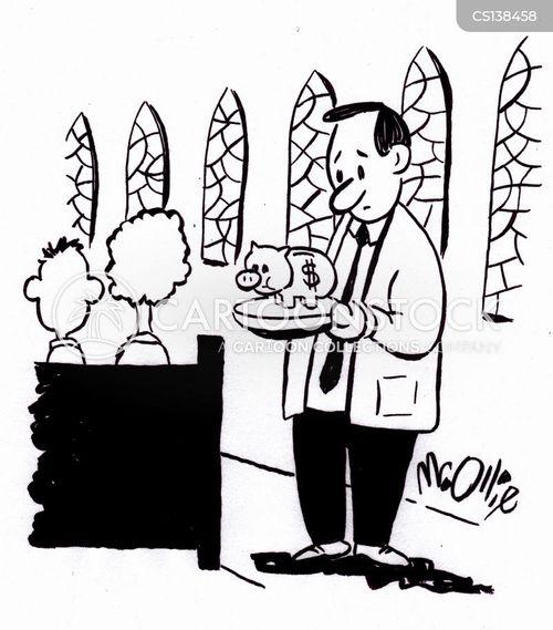 tithes cartoon