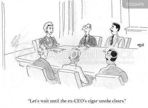 cigar smoke cartoon