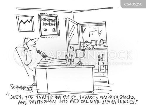 tobacco company cartoon