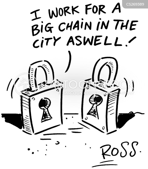 padlocks cartoon