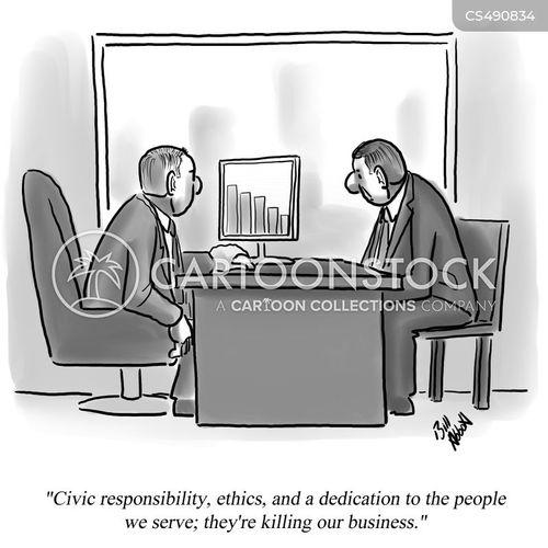 business tactic cartoon