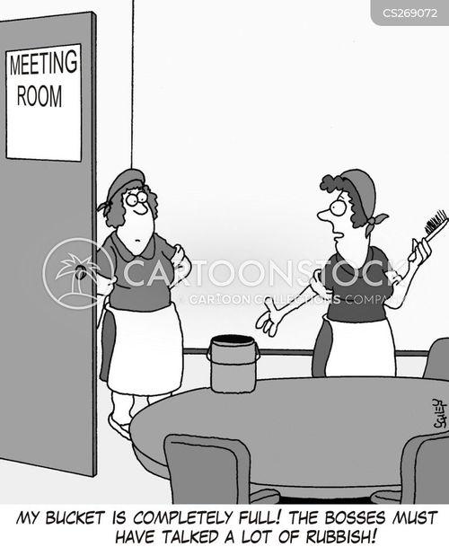 talking rubbish cartoon