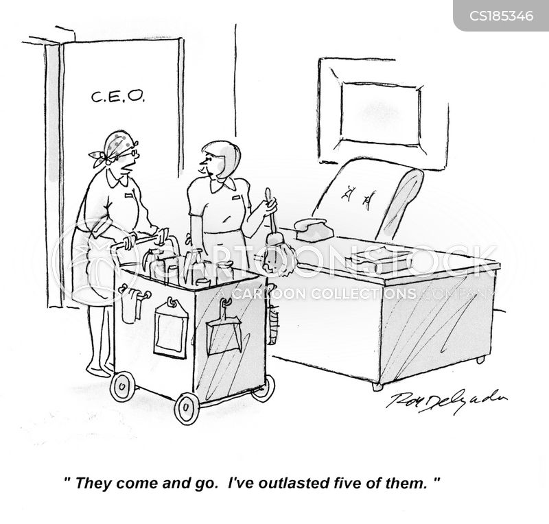chief executive officers cartoon