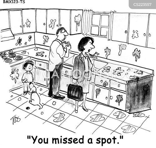 working woman cartoon