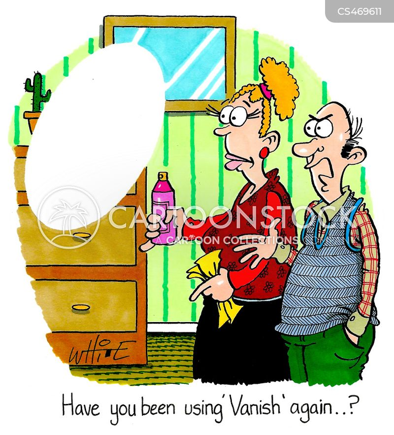stain removers cartoon