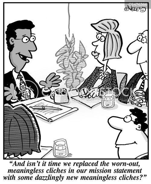 corporate speak cartoon