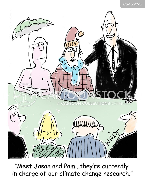 climate scientist cartoon