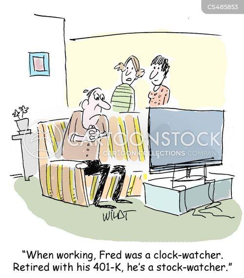 clock watchers cartoon