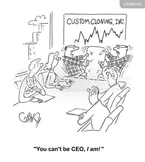 take-over cartoon