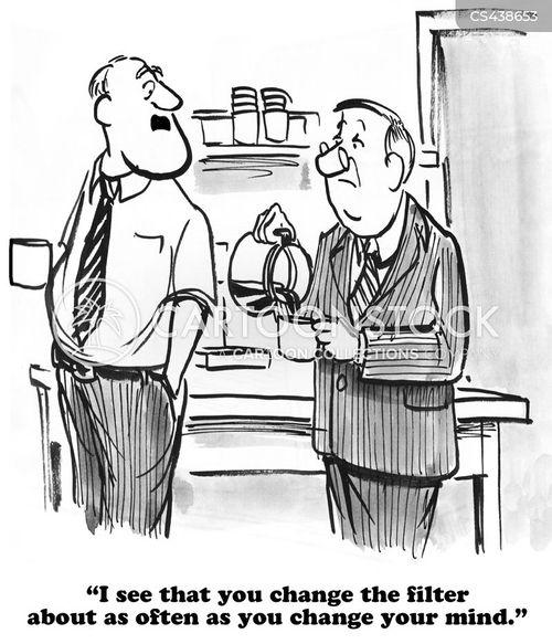 coffee filter cartoon