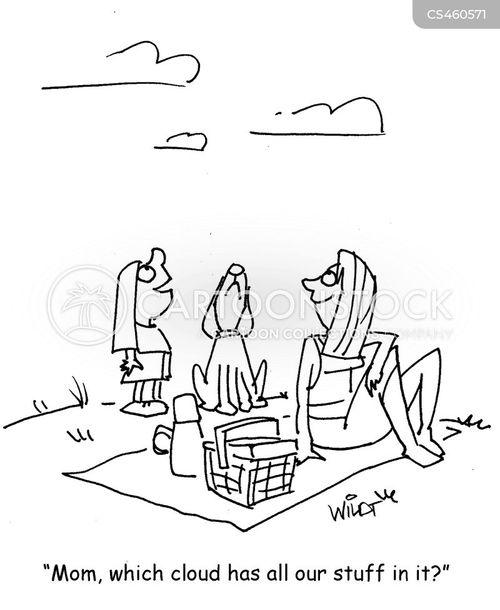 cloud watcher cartoon