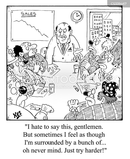 surrounded cartoon