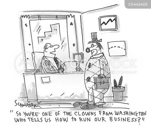 financial regulation cartoon
