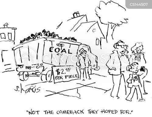coal industries cartoon