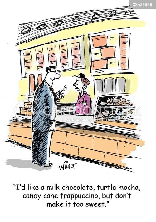 fussy customers cartoon