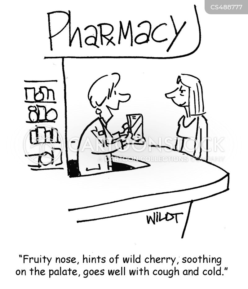 cold medicines cartoon