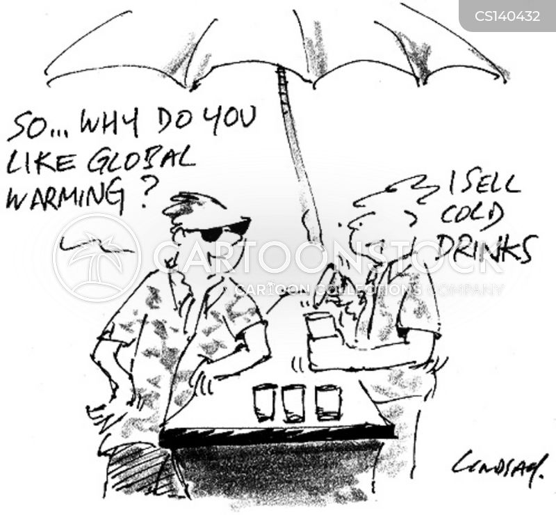 cold drinks cartoon
