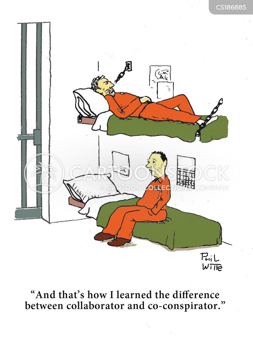 collaboration cartoon