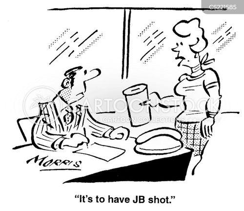 assassinating cartoon