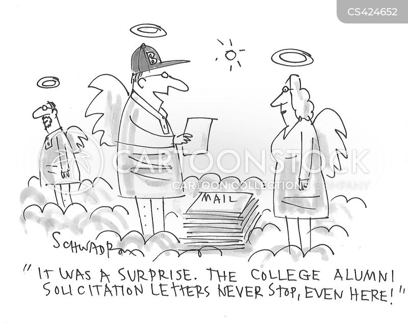 solicitation letters cartoon
