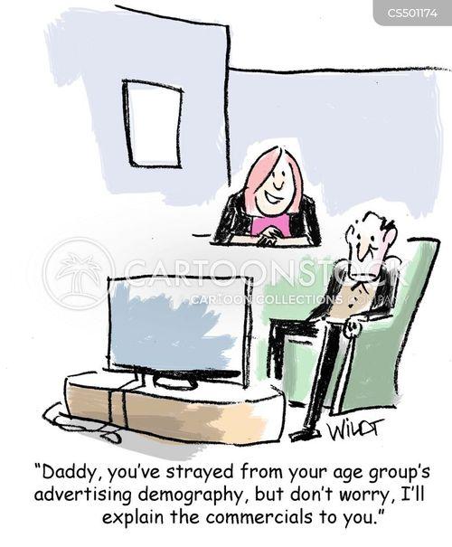 age groups cartoon