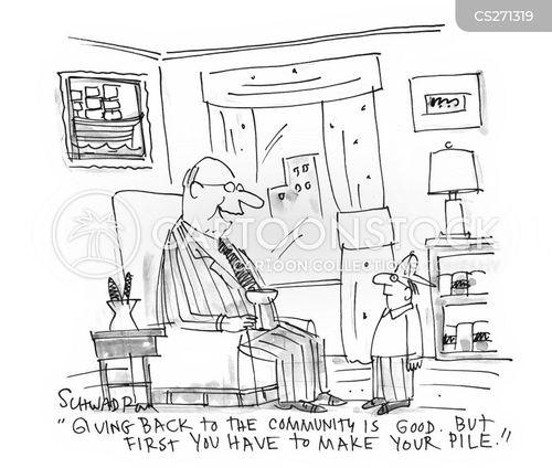 pile cartoon