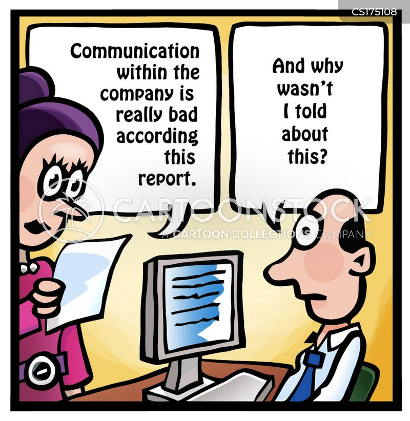 Communication Problems Cartoons and Comics - funny ...