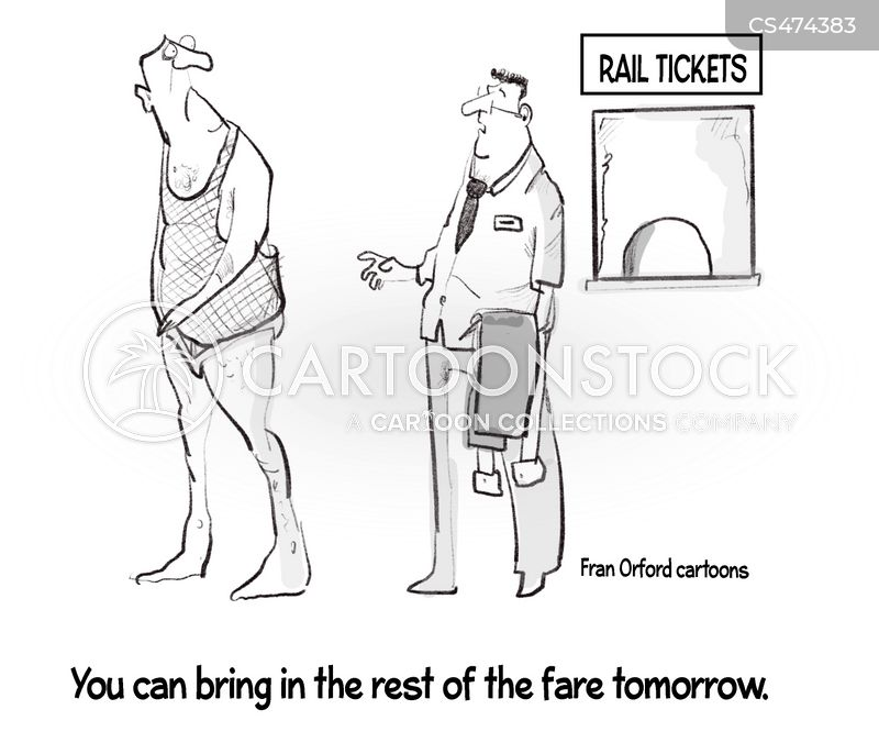 train fare cartoon