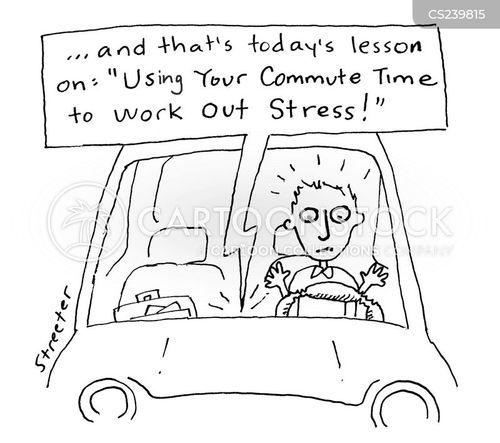 steering cartoon