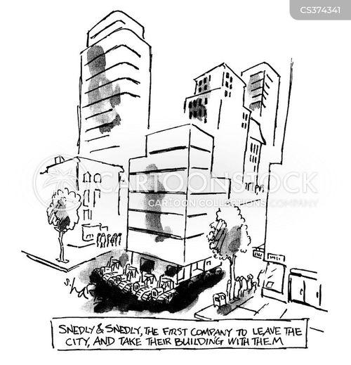city worker cartoon