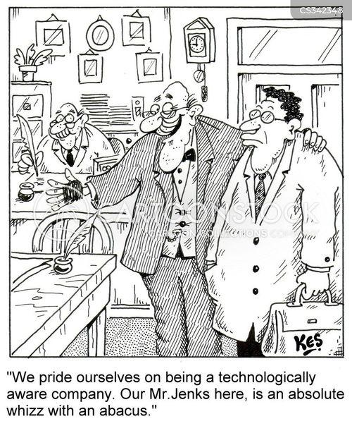 technologically cartoon
