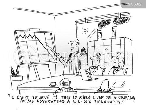progress report cartoon