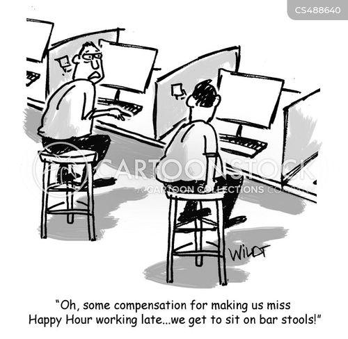 bar-stool cartoon