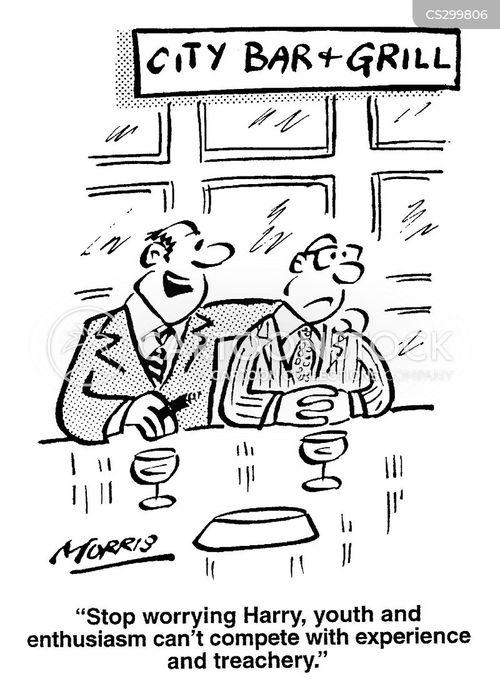 moralising cartoon