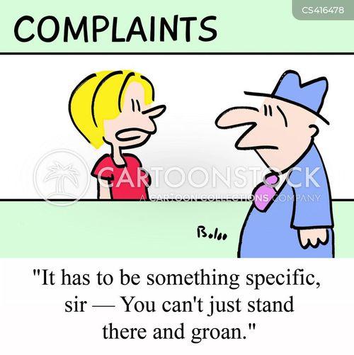 groan cartoon