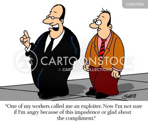impudent cartoon