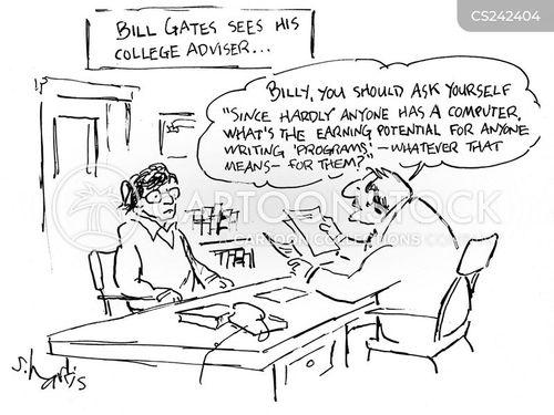 earning potential cartoon